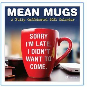 Mean Mugs Mini 2021 Calendar